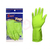 LUVA-LATEX-TOP-VERDE---P---FORRADA